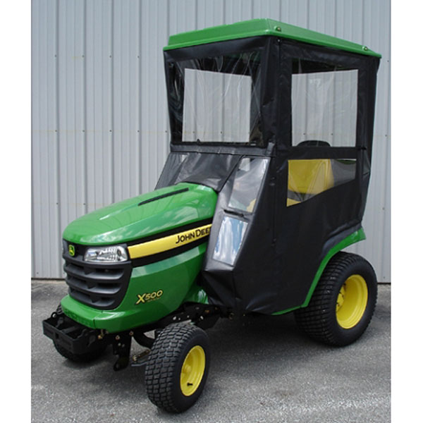 John Deere Lawn Tractor Enclosures : Original tractor cab hard top enclosure
