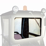 Original Tractor Cab Safety Glass Windshield Upgrade for Hard Top Cab Enclosure