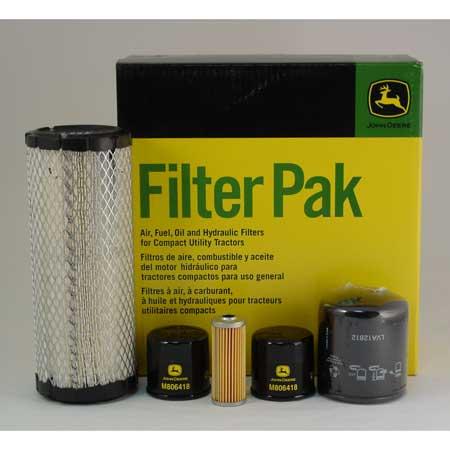 John Deere 2305 Compact Utility Filter Pak Lva14891