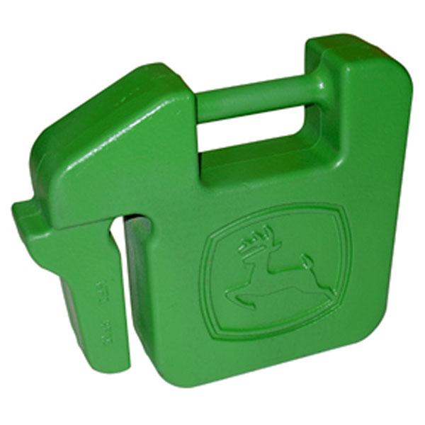 John Deere 332 >> John Deere 42-lb Quick-Tatch Weight R66949