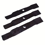 John Deere LOWER Cutting Blade Kit (3 Blades) 44in Piranha Deck M119799
