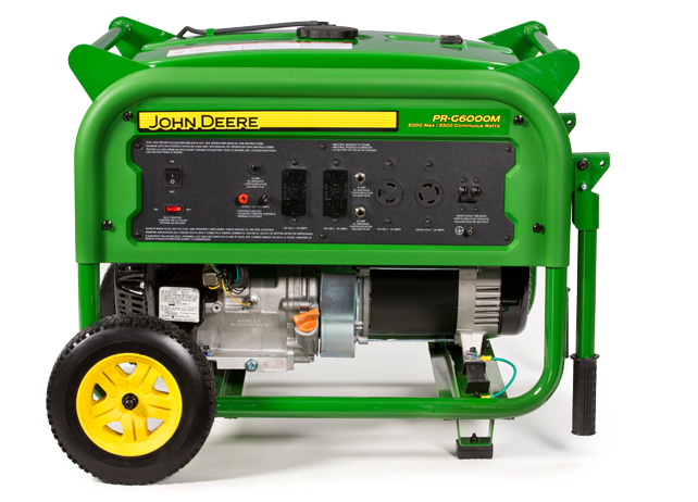 John Deere Pr G6000m Portable Generator Pr G6000m
