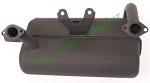 John Deere 425 and 445 Muffler With Gaskets