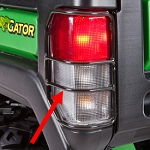 John Deere Gator Deluxe Cargo Box Brake and Taillight Protector