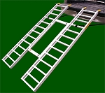 Great Day Load Lite Heavy Duty Tri Fold Adjustable Ramp