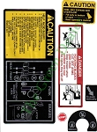 John Deere 316 Tractor Decal Kit