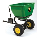 John Deere Tow-Behind Broadcast Spreader - 3.5 cu. ft. capacity