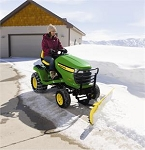 John Deere 44 Inch Front Snow Blade For 2006-15 X300 Series Lawn Tractors