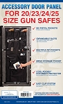 Liberty Accessory Door Panel For 20 23 24 and 25 Cubic Foot Gun Safes