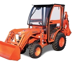 Curtis Soft Side Deluxe Cab for Kubota B2320 B2620 B2920 Tractors