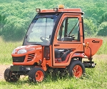 Curtis Soft Side Deluxe Cab for Kubota BX50 and BX60 Series Tractors