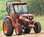 Curtis Hard Side Deluxe Cab for Kubota Grand L40 Series Tractors