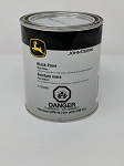 John Deere High Gloss Black Paint Quart TY25668