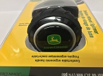 John Deere Deluxe Steering Wheel Spinner Knob, Black, Green Yellow Current Logo