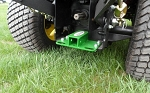 John Deere Rear Receiver Hitch with DOT Tie Down Points