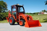 Curtis Hard Side Deluxe Cab For Kubota B3200 Series Compact Tractors