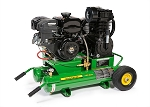 John Deere PR2-8GM 8 Gallon Twin Tank Two Stage Air Compressor