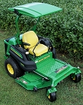 Universal Adjustable Canopy for Mowers and Tractors