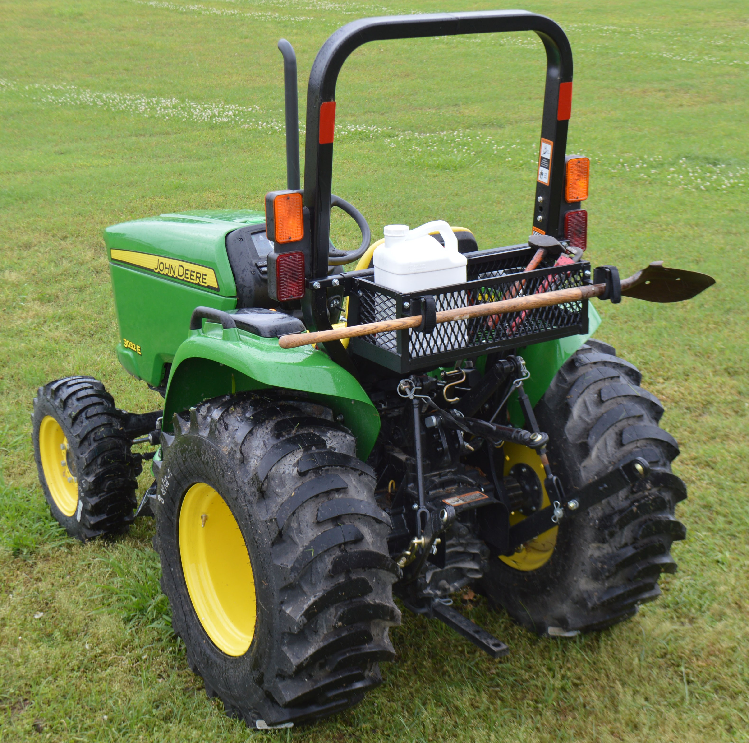 Universal Rops Mount Tractor Tool Tray