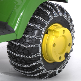 John Deere Gators >> Tire Chain Set for 22X11-10 and 22X9.5-12 Tires TY24327