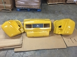 John Deere Yellow Hood and Fender Set for Worksite Gators