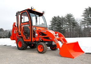 Curtis Hard Side Deluxe Cab For Kubota BX25 Series Compact Tractors