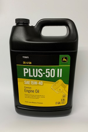 John Deere Plus-50 II CJ-4 Diesel Motor Oil 15W-40 TY26673 (1 Gallon)