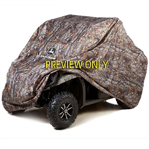 John Deere XUV 550 OPS Black Transportable Vehicle Cover - 2 Passenger