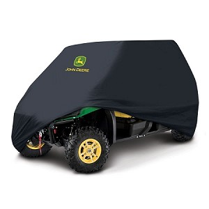 John Deere XUV 550 OPS Black Vehicle Cover - 4 Passenger
