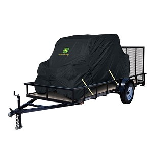 John Deere XUV 550 OPS Black Transportable Vehicle Cover - 4 Passenger
