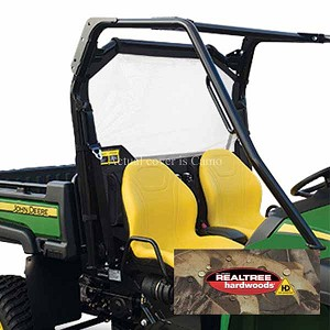 John Deere Heavy-Duty XUV OPS Soft Rear Screen - Camo