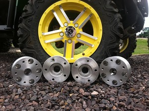 2 Inch Wheel Spacer Kit for XUV and HPX Gators