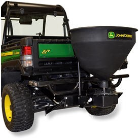 John Deere 3 Cu Ft Salt Spreader with Hitch and Control Package