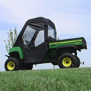 John Deere XUV Full Cab with Vinyl Windshield