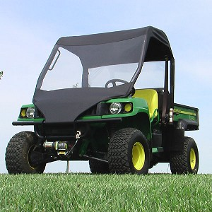 John Deere XUV Mini Cab with Vinyl Windshield