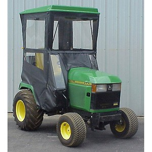 Hard Top Cab Enclosure Fits John Deere 425 445 455  Tractors