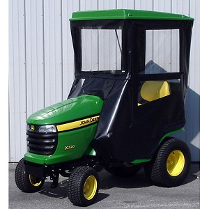 Hard Top Cab Enclosure Fits John Deere X300 Series Tractors