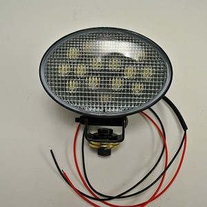 John Deere 8-inch Oval LED Trapezoid Worklight