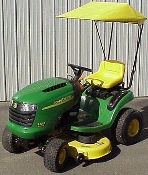 Sunshade Fits John Deere D100, L100, 100, and LA100 Series Lawn Tractors