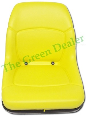 John Deere High Back Seat with Decal Fits 445 and 455 Tractors