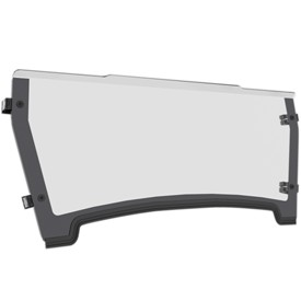 John Deere HPX and XUV Gator Poly Half Windshield