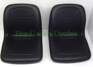 John Deere 4X2 6X4 Gator High Back Black Deluxe Seat Set