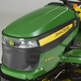 John Deere X300 Series Winter Grille Cover