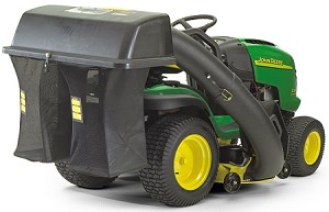 John Deere 48-inch Deck Grass Bagger with Chute