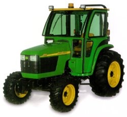 Curtis Hard Side Deluxe Cab John Deere 4120 - 4720