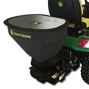 John Deere X700 Series 3-cu ft Broadcast Salt Spreader